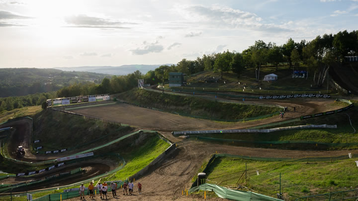 Loket motocross - start